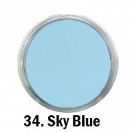 Acril Paint - no.34. - Sky Blue