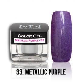 Color Gel - no.33. - Metallic Purple