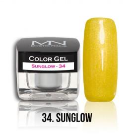 Color Gel - no.34. - Sunglow