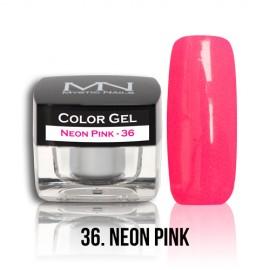 Color Gel - no.36. - Neon Pink