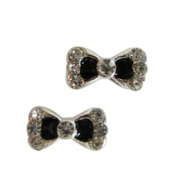 Nail Jewellery - Ribbon Black