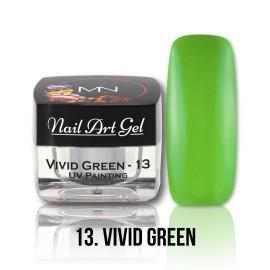 UV Painting Nail Art Gel - 13 - Vivid Green