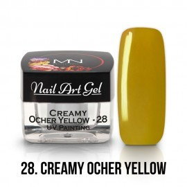 UV Painting Nail Art Gel - 28 - Ocher Yellow - 4g