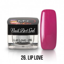 UV Painting Nail Art Gel - 26 - Lip Love - 4g