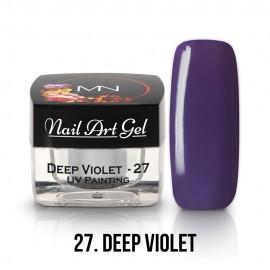 UV Painting Nail Art Gel - 27 - Deep Violet - 4g