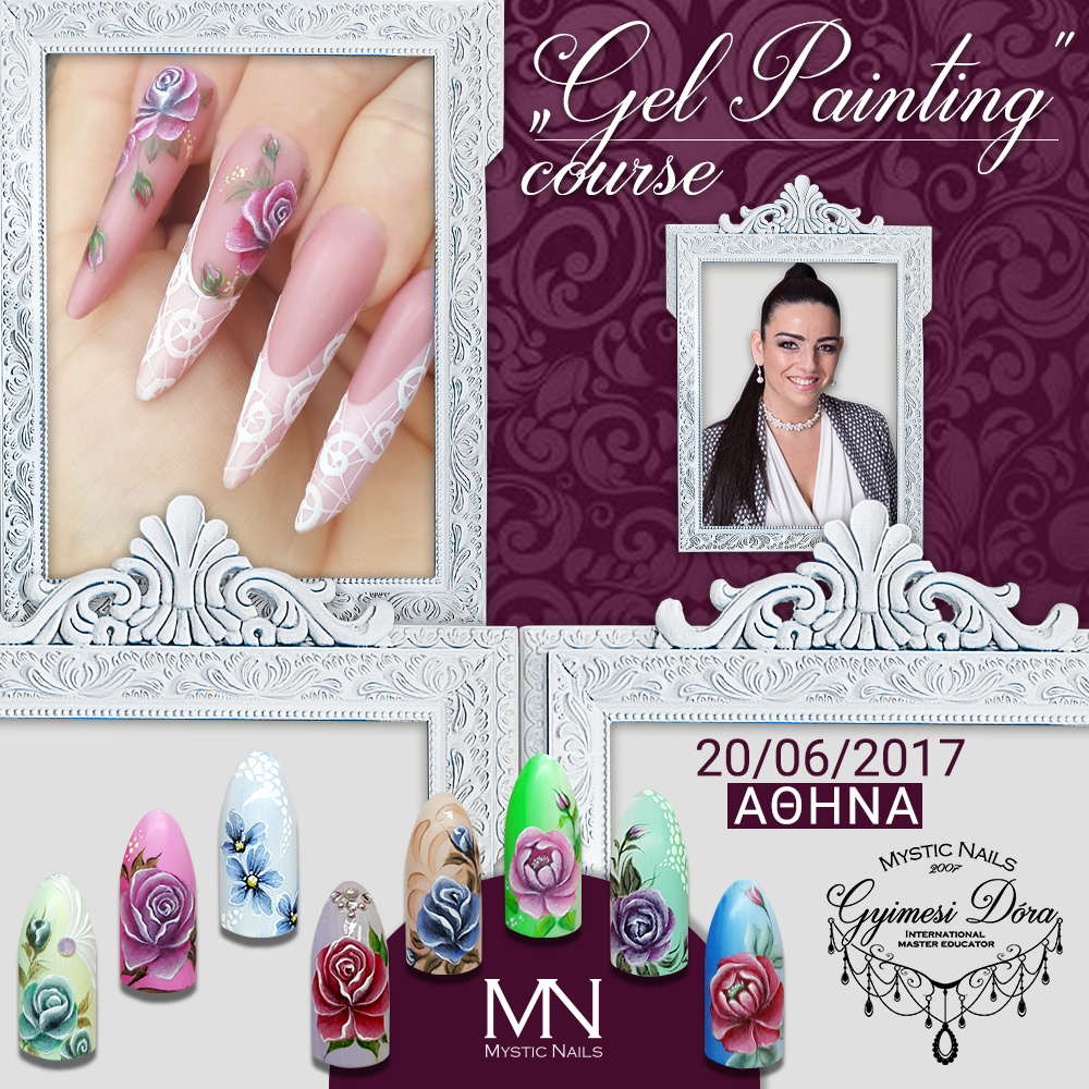 Gel Painting Course With Dora Gyimesi 20th Of June